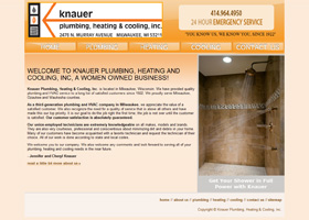 Knauer Plumbing, Heating & Cooling, Inc